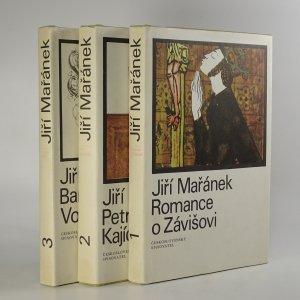 náhled knihy -  Rožmberská trilogie - Romance o Závišovi, Petr Kajícník, Barbar Vok  (3 svazky, komplet)