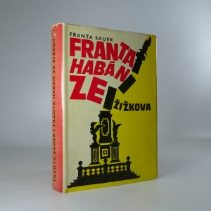 náhled knihy - Franta Habán ze Žižkova. Obrázky z doby popřevratové