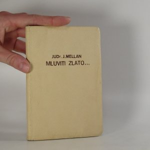 náhled knihy - Mluviti zlato...