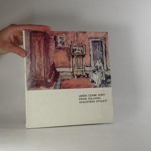 náhled knihy - Umění Černé Hory první poloviny dvacátého století