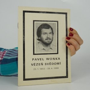 náhled knihy - Pavel Wonka - vězeň svědomí