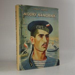 náhled knihy - Modrý námořník