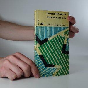 náhled knihy - Talent a práce