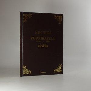 náhled knihy - Kronika podnikatelů 1990 - 1995