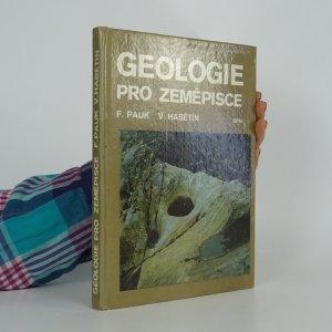 náhled knihy - Geologie pro zeměpisce