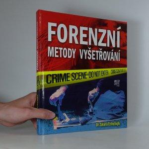 náhled knihy - Forenzní metody vyšetřování