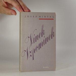 náhled knihy - Vínek vzpomínek