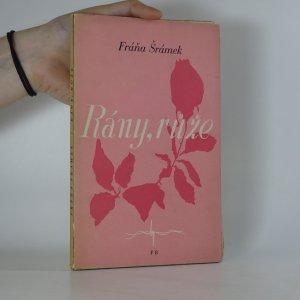 náhled knihy - Rány, růže