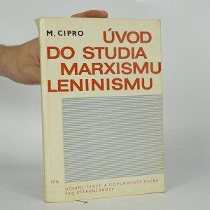 náhled knihy - Úvod do studia marxismu-leninismu