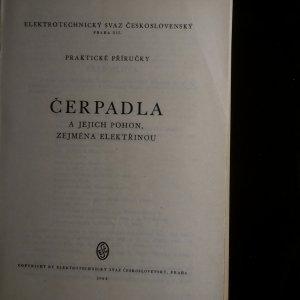 antikvární kniha Čerpadla a jejich pohon. Zejména elektřinou, 1945