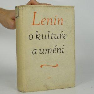 náhled knihy - Lenin o kultuře a umění