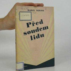 náhled knihy - Před soudem lidu