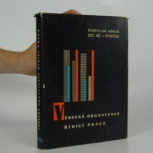 náhled knihy - Vědecká organizace řídící práce