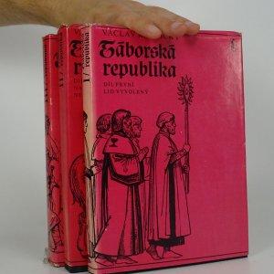 náhled knihy - Táborská republika (3 díly ve třech svazcích)