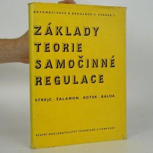 náhled knihy - Základy teorie samočinné regulace