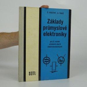 náhled knihy - Základy průmyslové elektroniky pro 3. ročník učebních oborů elektrotechnických