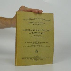 náhled knihy - Nauka o pružnosti a pevnosti