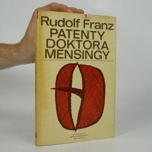 náhled knihy - Patenty doktora Mensingy