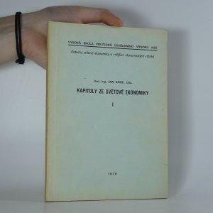 náhled knihy - Kapitoly ze světové ekonomiky. 1. díl