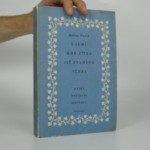 náhled knihy - V zemi, kde zítra již znamená včera