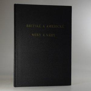 náhled knihy - Britské a americké míry a váhy