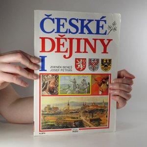 náhled knihy - České dějiny I.