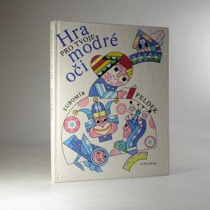 náhled knihy - Hra pro tvoje modré oči