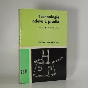 náhled knihy - Technologie oděvů a prádla pro 1. a 2. ročník SPŠ oděvní