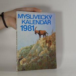 náhled knihy - Myslivecký kalendář 1981