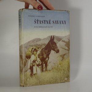 náhled knihy - Šťastné savany