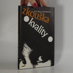 náhled knihy - Zkouška kvality