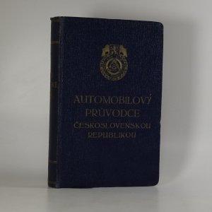 náhled knihy - Automobilový průvodce Československou republikou