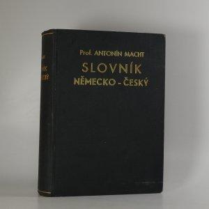 náhled knihy - Praktický slovník česko-německý