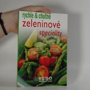 náhled knihy - Zeleninové speciality rychle & chutně