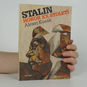 náhled knihy - Stalin. Horor XX. století.