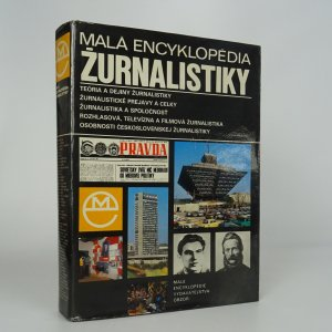 náhled knihy - Malá encyklopédia žurnalistiky