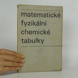 náhled knihy - Matematické, fyzikální, chemické tabulky