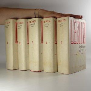 náhled knihy - Lenin. Vybrané spisy 1-5. (5 svazků)