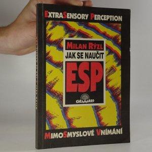 náhled knihy - Jak se naučit ESP  (kniha je cítit kouřem)