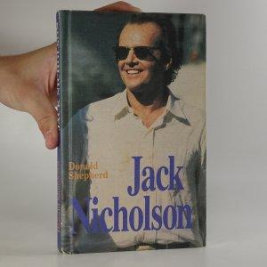 náhled knihy - Jack Nicholson (kniha je cítit kouřem)