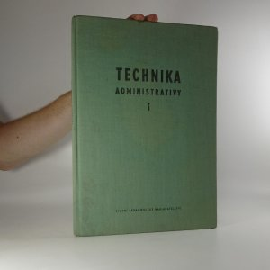 náhled knihy - Technika administrativy 1
