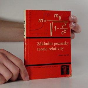 náhled knihy - Základní poznatky teorie relativity