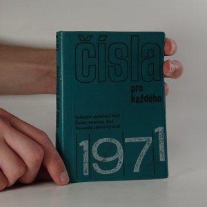 náhled knihy - Čísla pro každého 1971