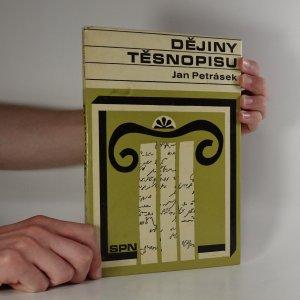 náhled knihy - Dějiny těsnopisu