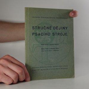 náhled knihy - Stručné dějiny psacího stroje