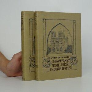 náhled knihy - Chrám Panny Marie v Paříži (2 svazky)