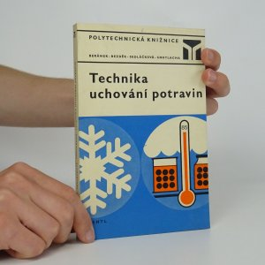náhled knihy - Technika uchování potravin