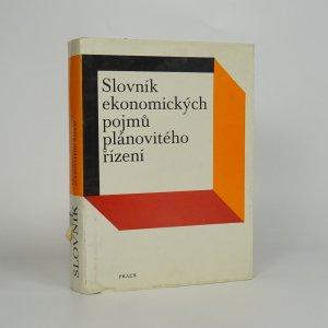 náhled knihy - Slovník ekonomických pojmů plánovitého řízení