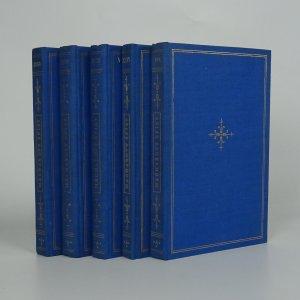 náhled knihy - Macharovy spisy. (Nekompletní, díly VII., XXVII., XXIV., XXVIII., XLVIII., 5 svazků)