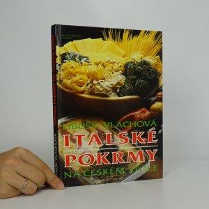 náhled knihy - Italské pokrmy na českém stole